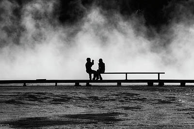 Steamy Photograph - Smile by Mark Kiver