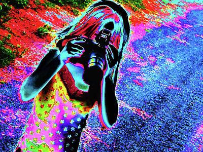 Molly Digital Art - Smile by Molly McPherson