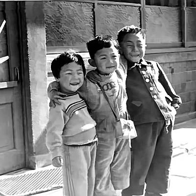 Photograph - Smiles From Korea Year 1955 by Dale Stillman