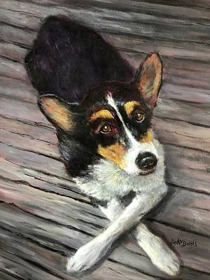 Painting - Smiley Jo by Randol Burns