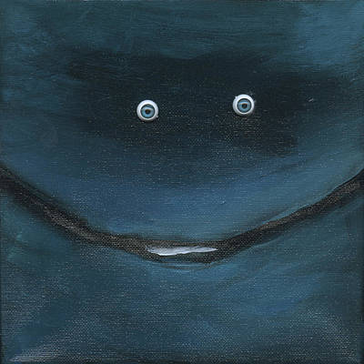Painting - Smilin Eyes Number 3 by Tim Nyberg