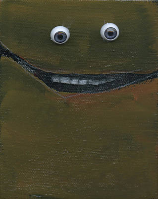 Painting - Smilin Eyes Number 6 by Tim Nyberg