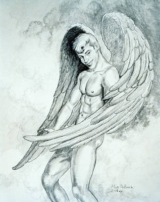 Painting - Smiling Angel by Marc DeBauch