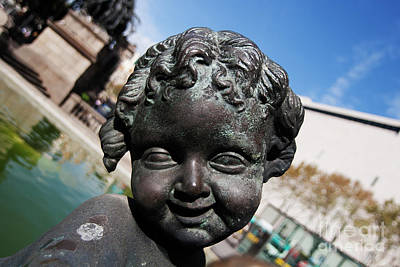 Photograph - Smiling Cherub by Agusti Pardo Rossello