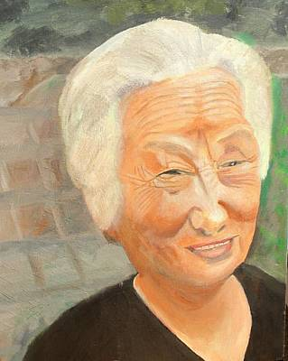 Smiling Elder Original