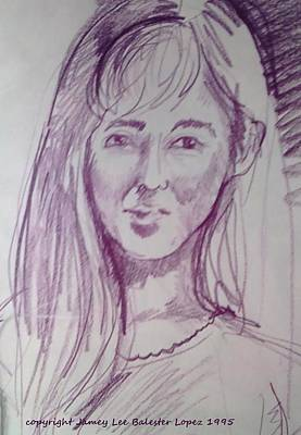 Smiling Eyes Art Print by Jamey Balester