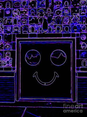 Digital Art - Smiling Faces by Ed Weidman