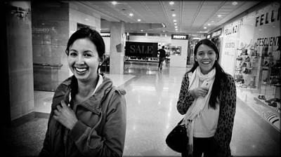 Smiling Girls Brighten My Day Print by Daniel Gomez