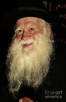 Photograph - Smiling Picture Of Rabbi Yehuda Zev Segal by Doc Braham
