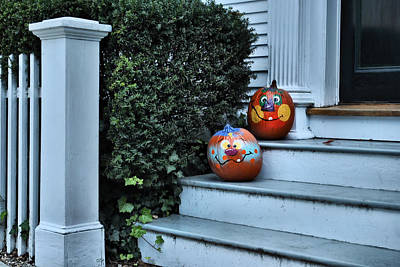 Photograph - Smiling Pumpkins by Laura DAddona