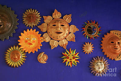 Photograph - Smiling Suns Or Sols Mexico by John  Mitchell