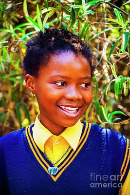 Photograph - Smiling Youth by Rick Bragan