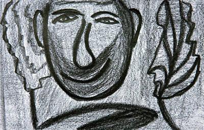 Drawing - Smirk by Vadim Levin