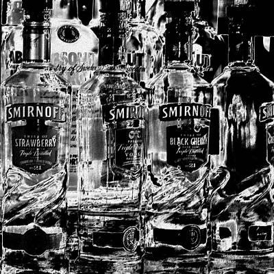 Smirnoff Photograph - Smirnoff Vodka by David Patterson