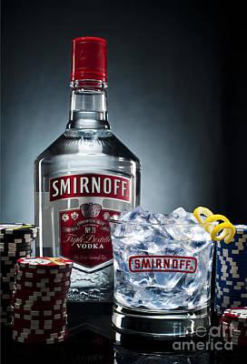 Sheep - Smirnoff Vodka by Ken Howard