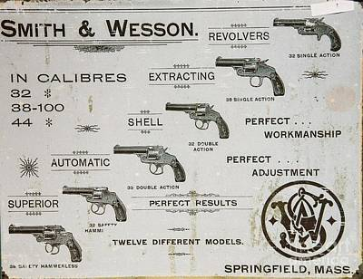 Photograph - Smith And Wesson Beat Four Aces by David Bearden