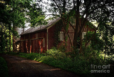 Photograph - Smith Birchenough Barn by Debra Fedchin