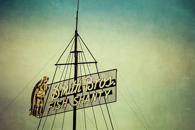 Photograph - Smith Bros Fish Shanty by Joel Witmeyer