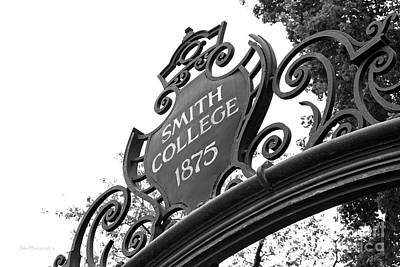 Photograph - Smith College Grecourt Gate by University Icons