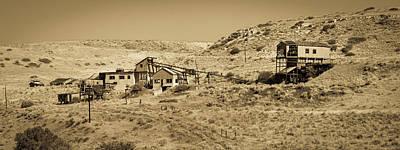 Photograph - Smith Mine Montana by TL Mair