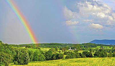 Photograph - Smith Mountain Lake Rainbow by The American Shutterbug Society
