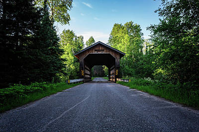 Photograph - Smith Rapids Covered Bridge by CJ Schmit
