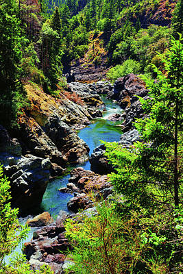 Photograph - Smith River Canyon by Greg Norrell
