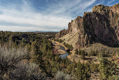 Photograph - Smith Rock And Beyond by Belinda Greb
