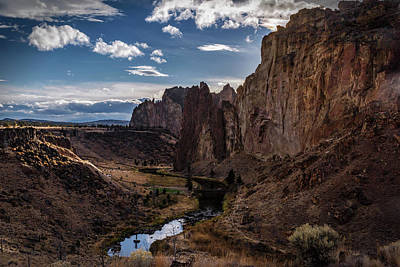 Photograph - Smith Rock And Crooked River by Cat Connor