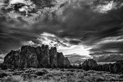 Photograph - Smith Rock Fury by Steven Clark