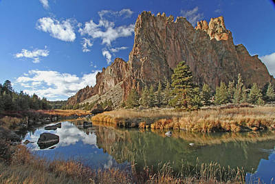 River Photograph - Smith Rock by Gary Wing