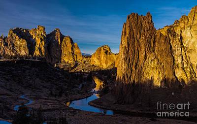 Landscape Photograph - Smith Rock Morning-6 by Adam Reisman