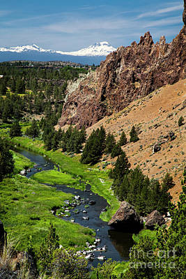 Photograph - Smith Rock Oregon by David Millenheft