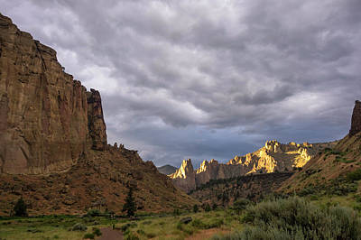 Photograph - Smith Rock Skies II by Steven Clark