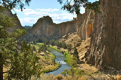Redmond Photograph - Smith Rock State Park by Dorota Nowak