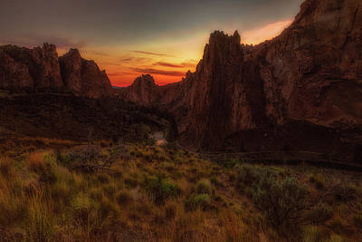 Photograph - Smith Rock by Thomas Hall