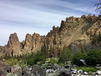 Smith Rocks Art Print