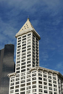 Photograph - Smith Tower Seattle 3 by John  Mitchell