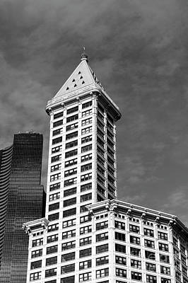 Photograph - Smith Tower Seattle 4 by John  Mitchell