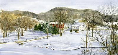 Painting - Smith Valley Farm by Phyllis Martino