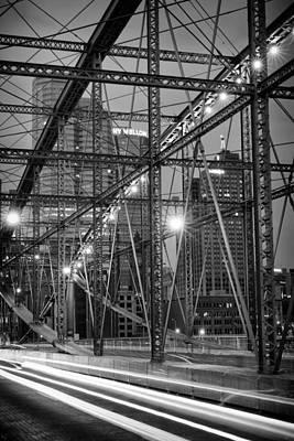 Photograph - Smithfield Street Bridge 6 by Emmanuel Panagiotakis