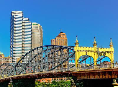 Photograph - Smithfield Street Bridge by Maria Coulson