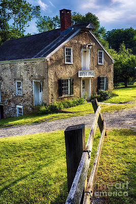 Stone Buildings Photograph - Smith's General Store  by George Oze