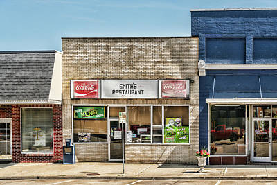 Photograph - Smiths Restaurant by Sharon Popek