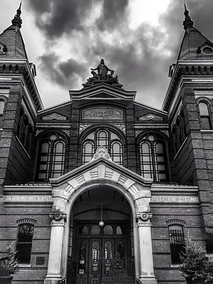Photograph - Smithsonian Arts And Industries Building by Chris Montcalmo
