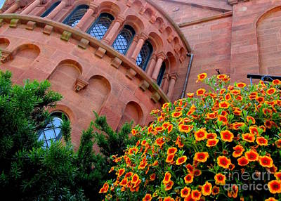 Photograph - Smithsonian Castle 2 by Randall Weidner