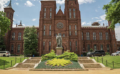Photograph - Smithsonian Castle by Jared Windler