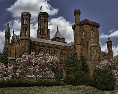 Washington D.c Digital Art - Smithsonian Castle by Rebecca Snyder