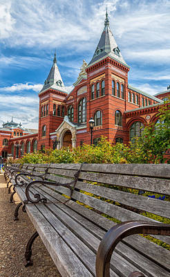 Photograph - Smithsonian Institute by Jonathan Nguyen