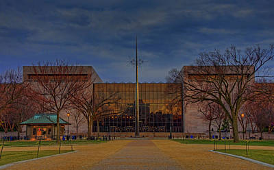 Smithsonian National Air And Space Museum Art Print by Craig Fildes